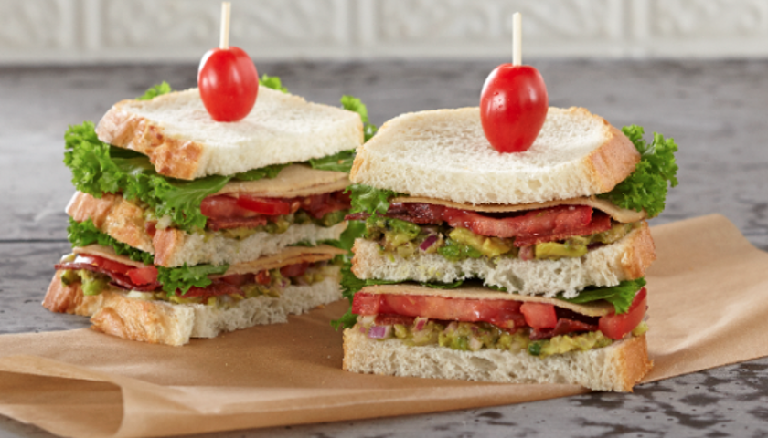 Bacon, Turkey, Lettuce & Tomato Club