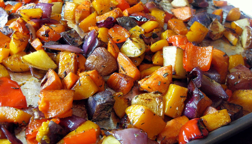 herb roasted veggies