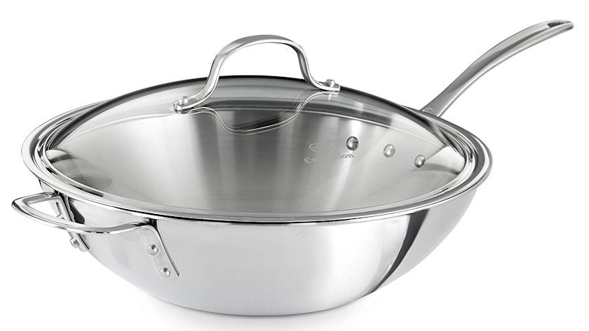 Calphalon Stainless Steel Wok