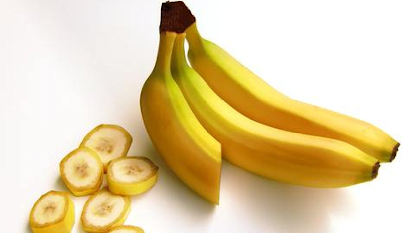 bananas and slices